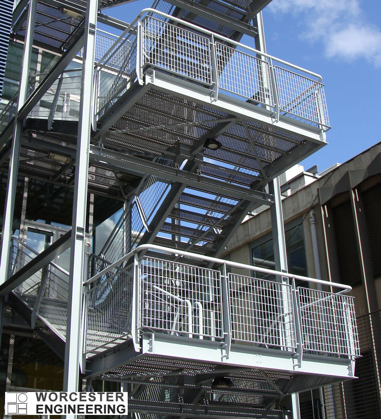 FIRE ESCAPE WELDING FABRICATION